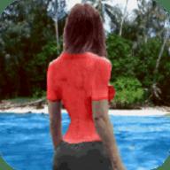 女孩荒岛求生